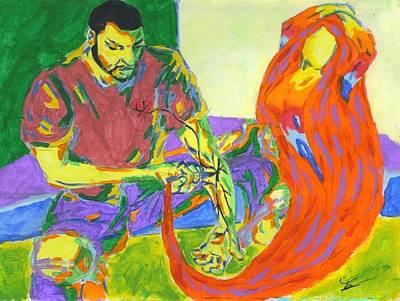 Fleurant Painting - Use Somebody by Jason JaFleu Fleurant