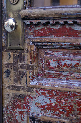 Photograph - Used Door by Henri Irizarri