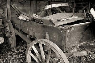 Photograph - Used Farm Wagon by Scott Kingery