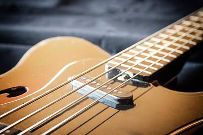 Pop Art - Used guitar closeup.  by Jaroslav Frank