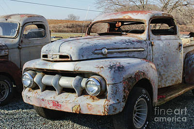Photograph - Used Truck by Roberta Byram