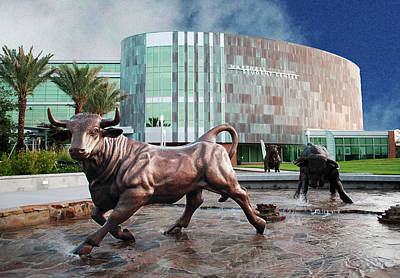 Usf Tampa Art Print by Francesco Roncone