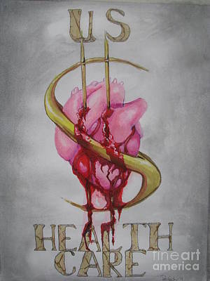 Painting - U.s.healthcare by Patricia Kanzler