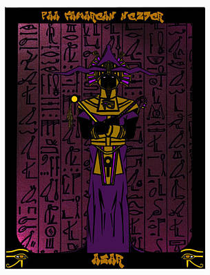 Osiris Mixed Media - Usir by Derrick Colter