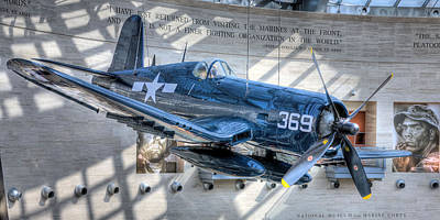 Photograph - Usmc F4u Corsair by JC Findley