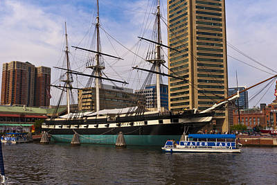 Photograph - Uss Constellation by Lou Ford