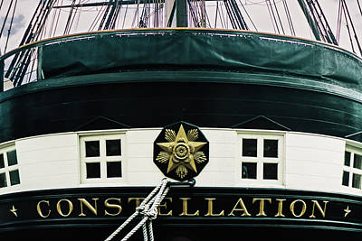 Photograph - Uss Constellation by Stewart Helberg