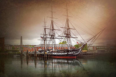 Photograph - Uss Constitution Boston  by Carol Japp
