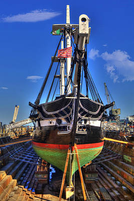 Photograph - Uss Constitution - Boston Ma by Joann Vitali