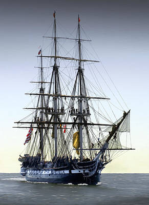 Windjammer Photograph - Uss Constitution by Fred LeBlanc