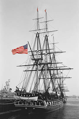 Photograph - Uss Constitution by Joann Vitali