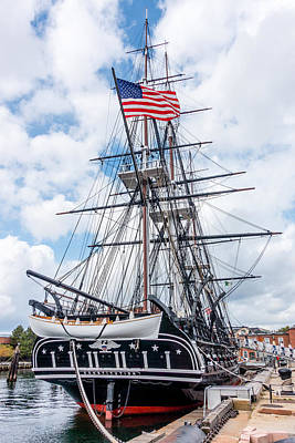 Photograph - Uss Constitution by Steven Green
