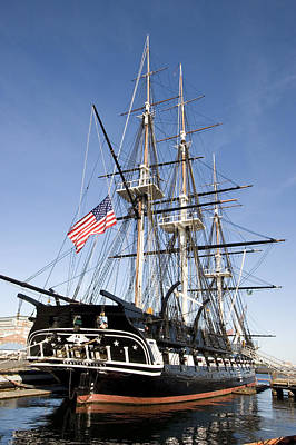 Uss Constitution Photograph - Uss Constitution by Tim Laman
