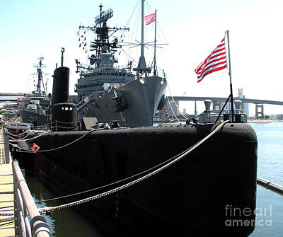 Photograph - Uss Croaker Submarine Buffalo Ny Naval And Military Park by Rose Santuci-Sofranko