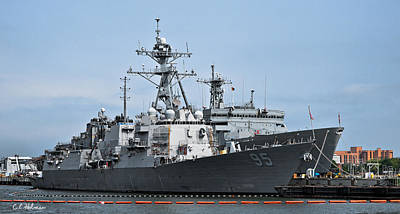 Photograph - Uss James E. Williams Ddg-95 by Christopher Holmes