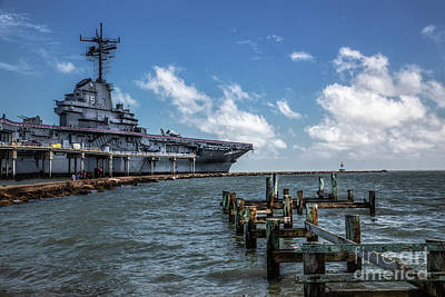 Photograph - Uss Lexington by Lynn Sprowl