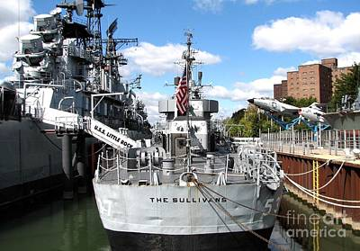 Photograph - Uss Little Rock And The Sullivans Ships by Rose Santuci-Sofranko