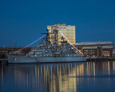 Photograph - Uss Little Rock by Chris Bordeleau