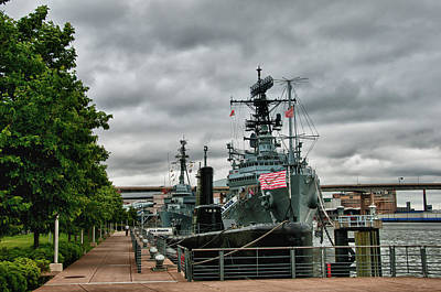 Photograph - Uss Little Rock by Guy Whiteley
