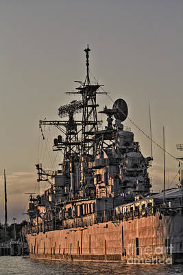 Photograph - U.s.s Little Rock by Jim Lepard