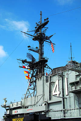 Photograph - Uss Midway by Afrodita Ellerman