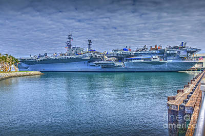 Photograph - Uss Midway Aircraft Museum by David Zanzinger