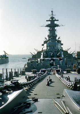 Photograph - Uss Missouri Battleship by Marilyn Hunt