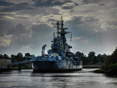 Photograph - U.s.s. North Carolina 001 by Lance Vaughn