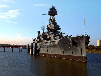 Photograph - Uss Texas by Joshua House