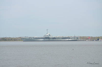Photograph - Uss Yorktown by Gordon Mooneyhan