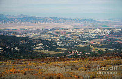Photograph - Utah A Patchwork by Cindy Murphy - NightVisions