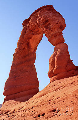 Photograph - Utah - Arches National Park - Delicate Arch 5 by Terry Elniski
