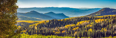 Landscape Photograph - Utah Autumn Panorama by James Udall