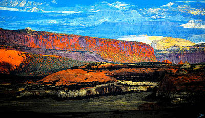 Painting - Utah Canyon Wilderness  by David Lee Thompson