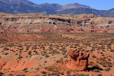 Photograph - Utah Desert Landscape by Aidan Moran
