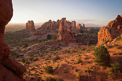 Photograph - Utah Desert Landscape - Arches National Park by Gregory Ballos