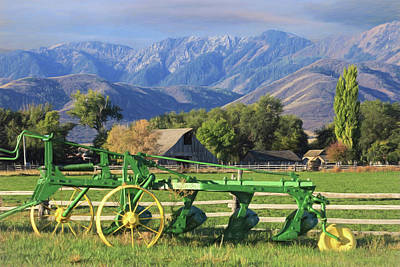 Photograph - Utah Farm by Donna Kennedy
