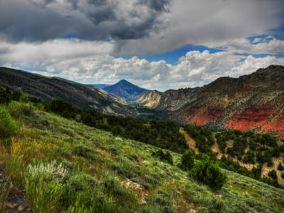 Photograph - Utah - Flaming Gorge 002 by Lance Vaughn