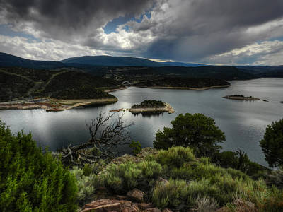 Photograph - Utah - Flaming Gorge Reservoir 002 by Lance Vaughn