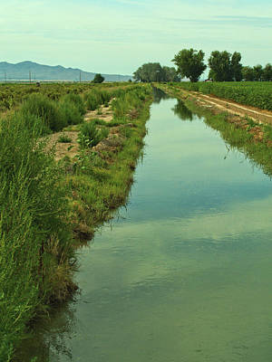 Photograph - Utah Irrigation by David King