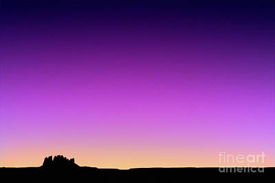 Photograph - Utah - Monument Valley Sunset Sky by Terry Elniski