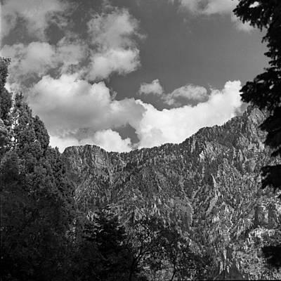 Photograph - Utah Mountains Near Sun Valley  by Paul Ross