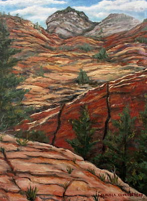 Painting - Utah Paradise by Claudia Croneberger