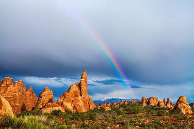 Photograph - Utah Rainbow by James BO Insogna