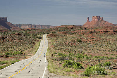 Photograph - Utah Route 128 by Jim West