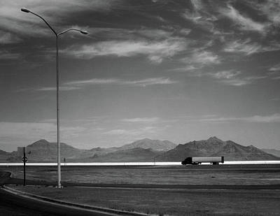 Photograph - Utah Salt Flats by Art Shimamura