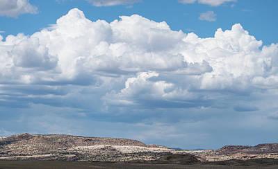 Photograph - Utah Storm Clouds by Tom Cochran