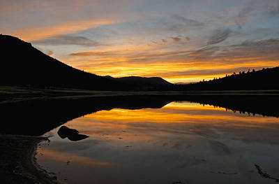 Photograph - Utah Sunset Reflected by Linda Shannon Morgan