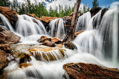Photograph - Utah Waterfall by Michael Ash