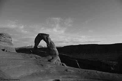 Photograph - Delicate Arch by James Petersen